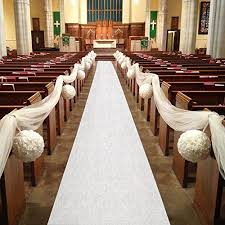 aisle runner hasen aisle runner 100 x 3 ft wedding aisle runner white aisle