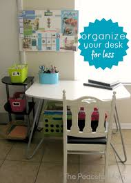 Organize Your Desk Organize Your Desk On A Budget The Peaceful