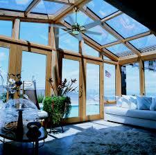 solarium sunroom wood interior cathedral roof sunroom by sunboss room additions