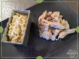 recette boursin cuisine poulet poulet boursin figues noix recettes cookeo