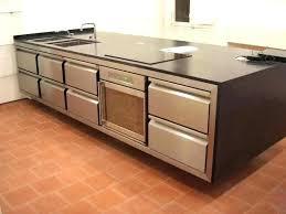 meuble cuisine inox professionnel inox pour cuisine plan de travail cuisine professionnelle meuble