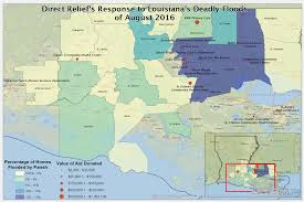 South Louisiana Map by Louisiana Floods Six Month Update On Direct Relief U0027s Response