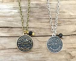 new orleans water meter necklace new orleans water meter necklace new orleans necklace nola