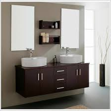 Small Contemporary Bathroom Vanities by Bathroom 2017 Stylish Brown Mount Bathroom Vanity Next To