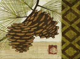 pine cone wall art takuice com