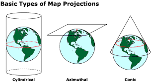 what is a map projection geographic information systems map projections