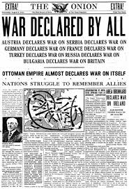 What Happened To The Ottoman Empire After Wwi by August 5 1914 The Onion America U0027s Finest News Source