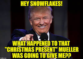 Christmas Present Meme - hey snowflakes what happened to that christmas present mueller