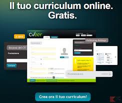 curriculum vitae formato europeo pdf da compilare online compilare curriculum vitae online i migliori siti chimerarevo
