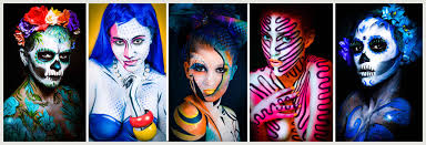 Makeup Classes Austin Body Painting Classes