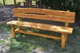 Patio Furniture Made From Wood Pallets by Exterior Wooden Outdoor Bench Seat Good Rustic 301 For With