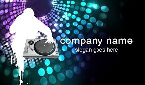Business Card Music Dj Business Cards Disc Jockey Business Cards Dee Jay Business Cards