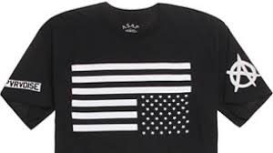 Black And White American Flag Pacsun American Flag T Shirt Too Offensive Youtube