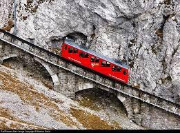 cremagliera pilatus monte pilatus ferrovia la pi禮 pendente al mondo skimania