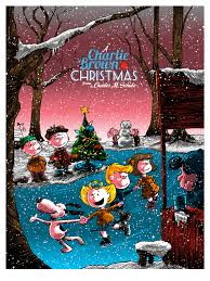 brown christmas poster inside the rock poster frame a brown christmas by