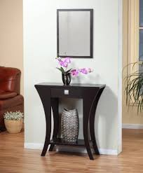Entry Way Table Decorating by Elegant Interior And Furniture Layouts Pictures Narrow Foyer