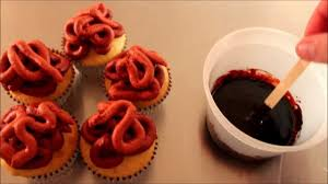 how to make bloody guts u0026 gore halloween cupcakes the walking