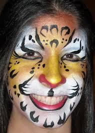 face painting pop art