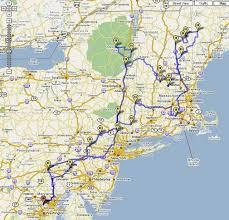 road trip map of usa driving map northeast us 5a928cb4ca93accbdc4dc4fafa43c7e5 east