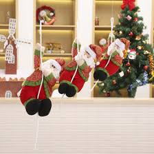 Christmas Decorations Online Cheap by Rope Climbing Santa Decoration Online Rope Climbing Santa