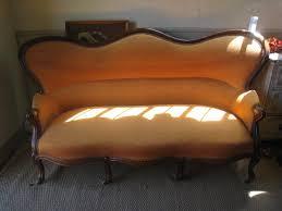 canapé récamier banquette ancienne canapé ancien sur proantic louis philippe