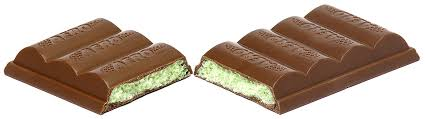 amazon com nestle aero mint chocolate pack 4 bars grocery