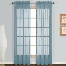 Washing Voile Curtains Amazon Com United Curtain Monte Carlo Sheer Window Curtain Panel
