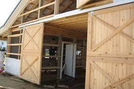Installing A Sliding Barn Door Before Install An Exterior Sliding Barn Doors The Door Home Design