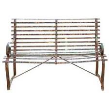 Wrought Iron Benches For Sale Wrought Iron Benches 76 For Sale At 1stdibs