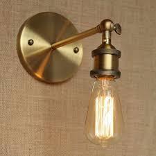 gold bathroom light fixtures industrial style antique gold metal wall l for workroom bathroom