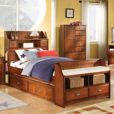 Trundle Bed With Bookcase Headboard How Wonderful Bookcase Concept Storage Headboard Ideas Bedroomi Net