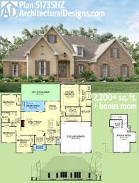 plan 51735hz flexible southern home with bonus room french design