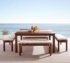 square outdoor dining table chatham square table bench dining set honey bench set
