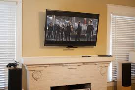 Fireplace Mantels For Tv by Mantelmount Fireplace Tv Mount Review Audiogurus