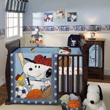 Snoopy Rug Blue White Wall Themes With Blue Snoopy Theme Blanket And Brown