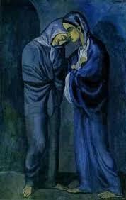 la chambre bleue picasso ap exclusive picasso painting reveals