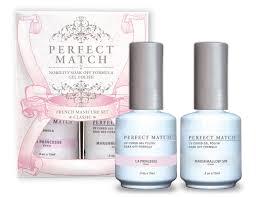 perfect match french manicure set classic lechat nails