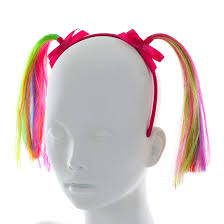 claires headbands kids rainbow pigtail headband s