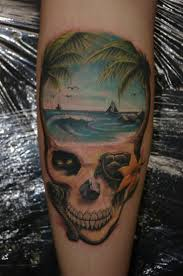 Tropical Themed Tattoos - beach themed tattoos pictures to pin on pinterest tattooskid