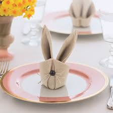 easter napkins bonkers about buttons how to fold easter bunny rabbit napkins