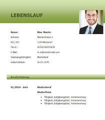 Lebenslauf Vorlage Lebenslauf Vorlage Bankkaufmann Bzw Bankkauffrau