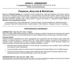 exles of excellent resumes resume resume exles sle resume for banking sle
