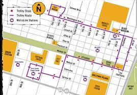 Stl Metrolink Map Downtown Trolley