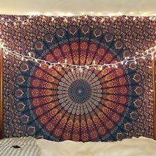 Indian Inspired Bedding Indian Tapestry Ebay