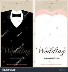 Beautiful Invitation Cards Beautiful Wedding Invitation Cards Place Text Stock Vector
