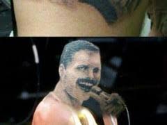Freddie Meme - the perfect freddie mercury tattoo weknowmemes