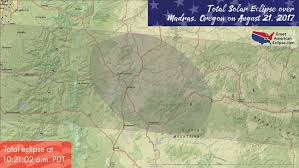 map of oregon showing madras oregon eclipse total solar eclipse of aug 21 2017