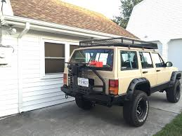 jeep comanche spare tire carrier smittybilt xrc rear bumper with tire carrier jeep cherokee forum