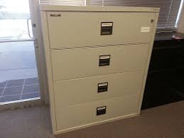 Fireproof Lateral File Cabinet Used King Fireproof Lateral Filing Cabinets