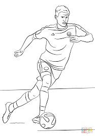 thomas muller coloring page free printable coloring pages